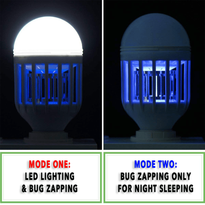 MosKill™ - Lámpara Anti-Mosquito LED 2 en 1