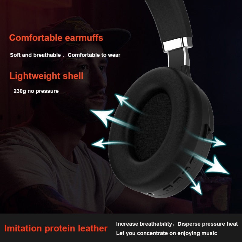 Cascos Inalambricos Bluetooth – Headset 5.0