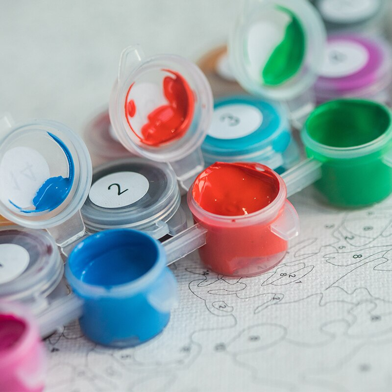 Kit para Pintar con Números – Paint By Numbers