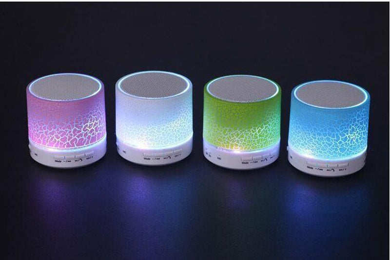 Mini Altavoz Portátil LED