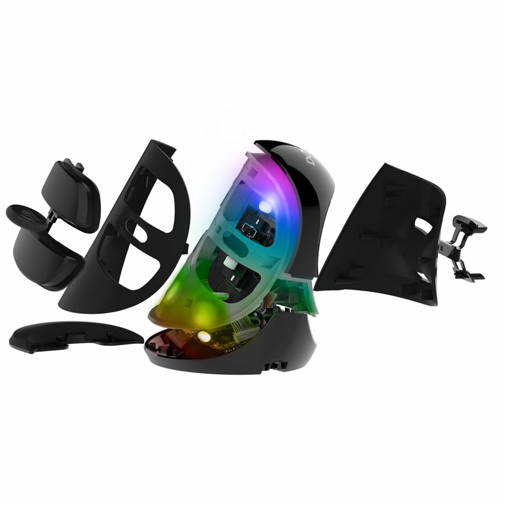 Ratón Inalámbrico Vertical – RGB Vertical Mouse