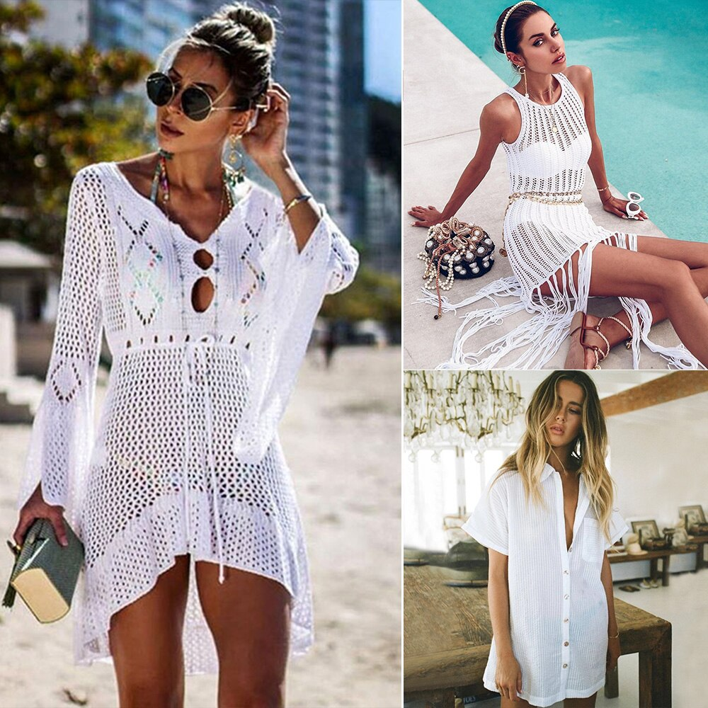 Vestido Playa Blanco - SummyFashion