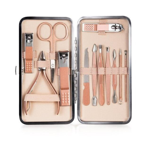 Kit 12 pcs Cortaúñas – Manicure Kit