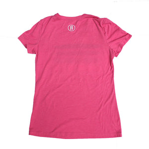 Disc Stripes T-Shirt - Vintage Pink (Women's)