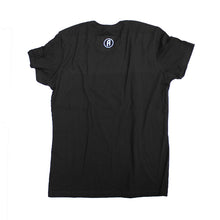 Black cotton women's disc golf t-shirt