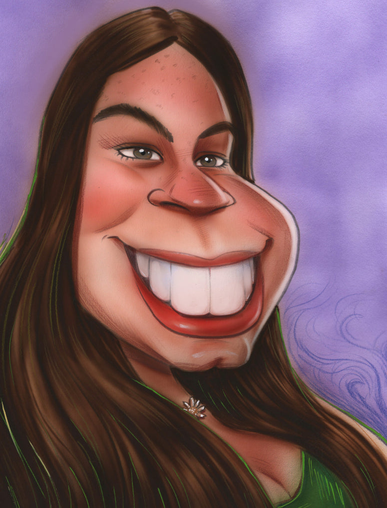 ** NEW ** Caricatures of People or Pets