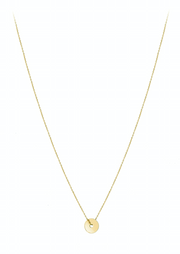 Disk Collier Necklace