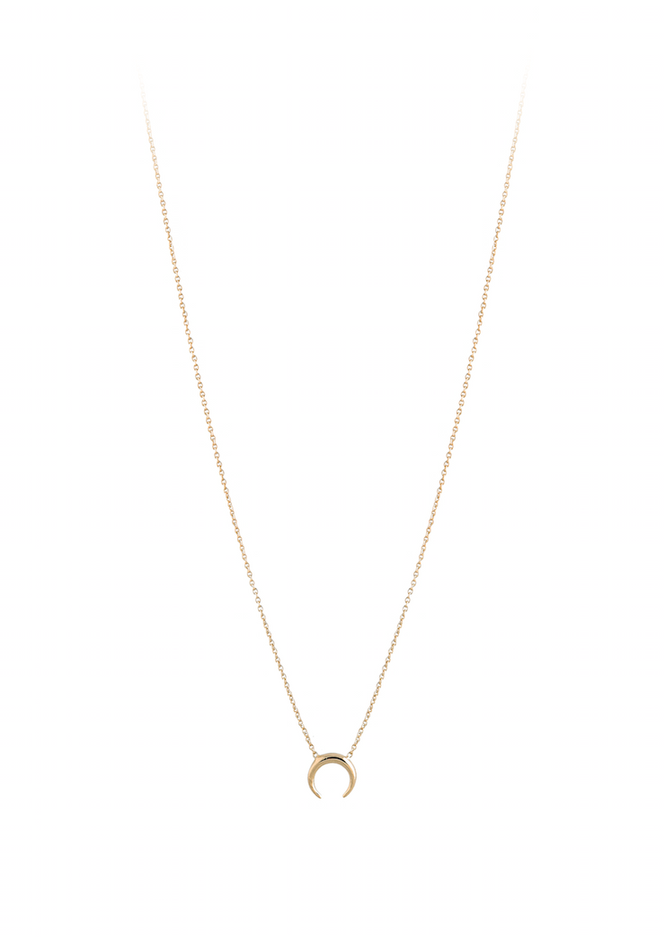 Crescent Collier Necklace