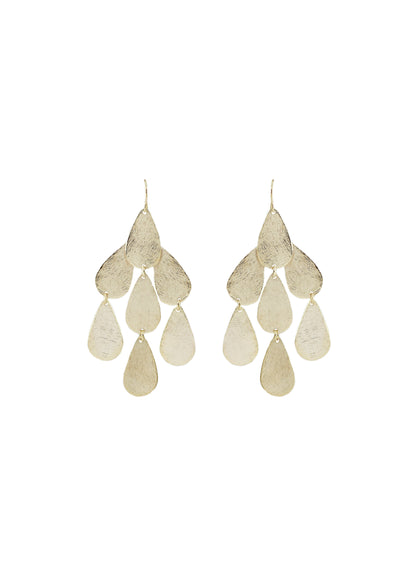 Carolina Raindrop Chandelier Earrings