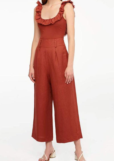 Lucy Tailored Linen Pant
