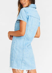 Ellie Denim Mini Dress