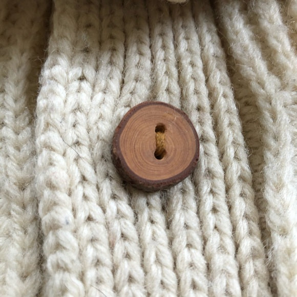 Chunky Hand Knit Vintage Cardigan