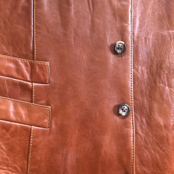Genuine Leather Vintage Vest