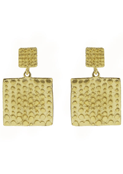 Oksana Embossed Earrings