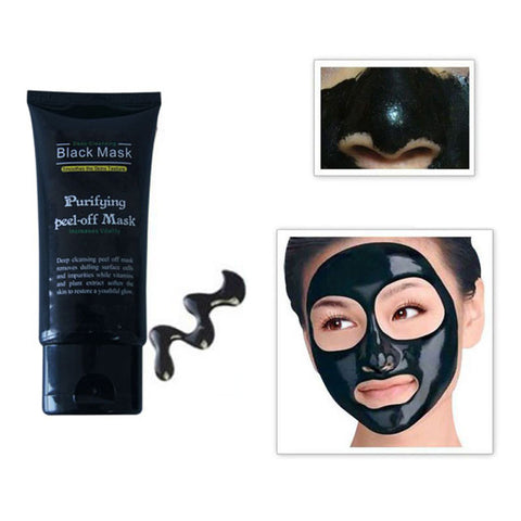 50ml Blackhead Deep Cleaning Black Face Mask - fitnessbeststore