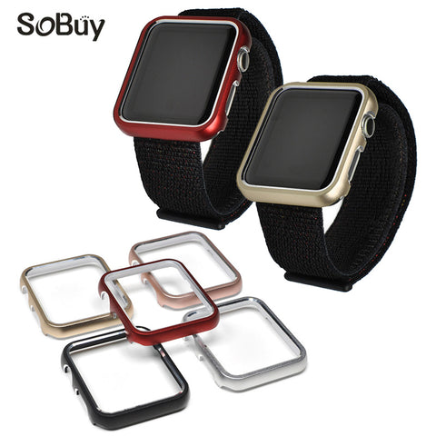 Protective Metal Frame Cover for iwatch Series 1/2/3 - fitnessbeststore