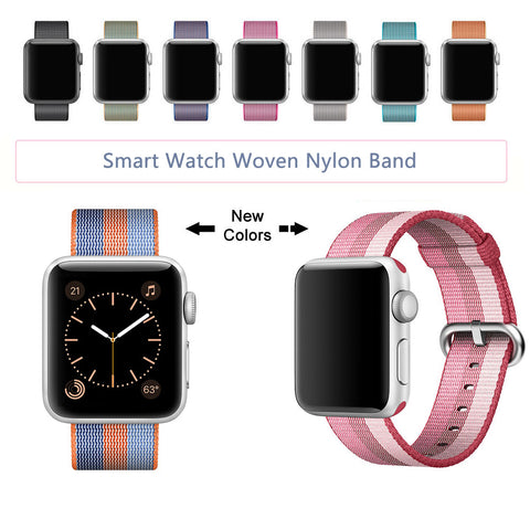 Nylon Strap for Apple Watch Series 3/2/1 With Built-in Adaptor - fitnessbeststore