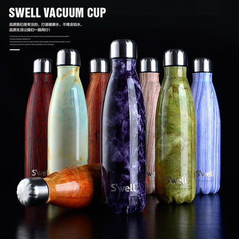 Creative Bowling Vacuum insulated stainless steel water bottle