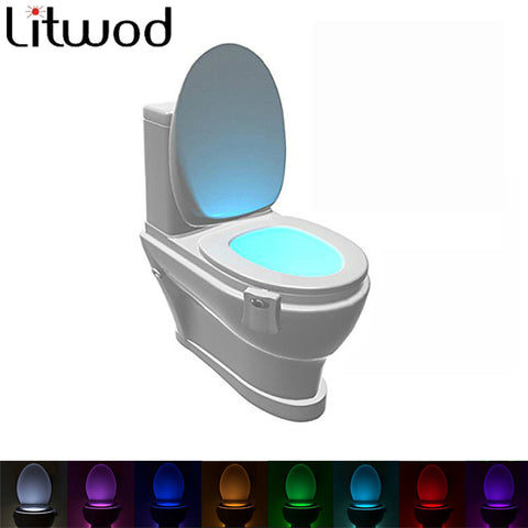 Motion Activated LED Toilet light (8 Colors) - fitnessbeststore
