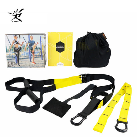 Resistance Bands Sport Equipment Strength Trainer Belt for Workout (4 Colors)
