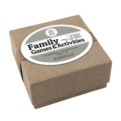 Family Games & Activities Ideas Box - Bailey&Rufus