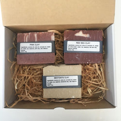 Natural Clay Handmade Soap Gift Pack - Bailey&Rufus