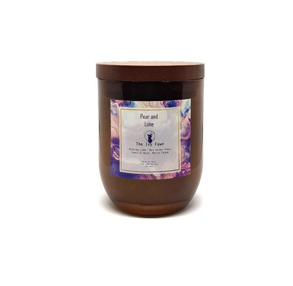 Pear & Lime Candle - Bailey&Rufus
