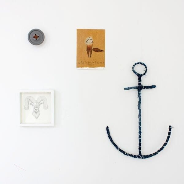 Vintage Denim Anchor - Bailey&Rufus
