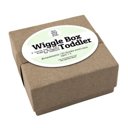 Wiggle Ideas Box for Toddlers - Bailey&Rufus
