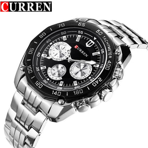 Curren Quartz Watch For Men