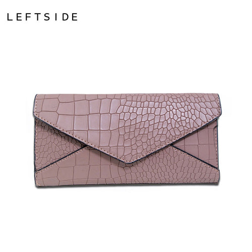 LEFTSIDE Women's Designer Wallet