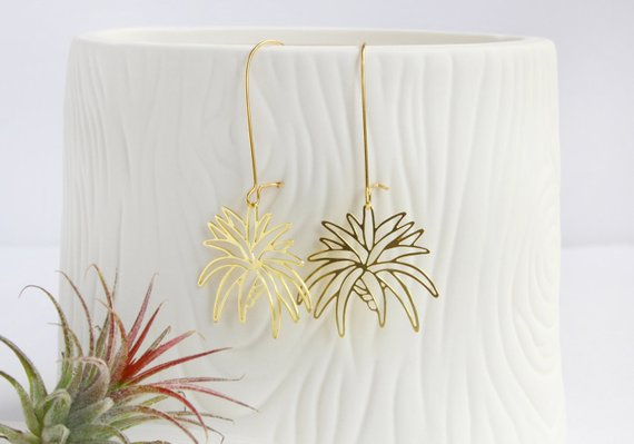 Air Plant Earrings
