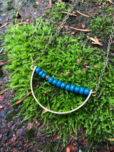 Sodalite Crescent Necklace