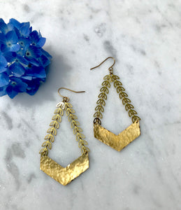 Chevron Fall Earrings