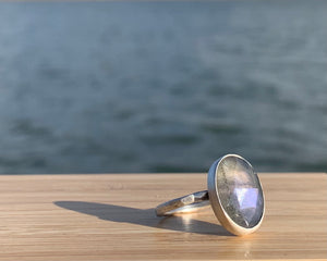 Labradorite Freedom Ring II