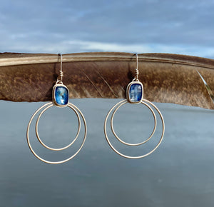 Kyanite Double Entendre Earrings