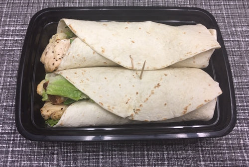 Grilled Chicken Ceasar Gogo Wraps