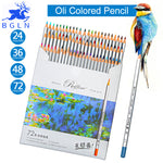 Marco 72pcs Color Pencil Painting Set lapis de cor Non-toxic Lead-free Oily Colored Pencil Writing Pen Office & School Supplies