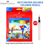 Faber-Castell 48/60 Colors Watercolor Colored Pencils lapis Water-Soluble Color Pencil School Art Supplies lapices de colores