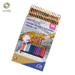 Conda 24/36pcs Watercolor Pencil Painting Set lapis Non-toxic water-soluble Oil Pencil Writing Pen Office & School Supplies