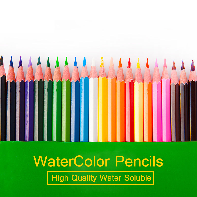 12 18 24 36 Colors Set Water-Soluble Watercolor Pencils  Safe Non-toxic Colored Pencils For Art Drawing Lapices de colores lapis