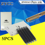 5PCS/lot fountain pen Ink capsules JinHao pens ink Small caliber fountain pen refill