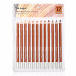 Dainayw 12 Colors Professional Soft Pastel Pencils Wood Skin Tints Pastel Colored Pencils For Drawing School Art supplies