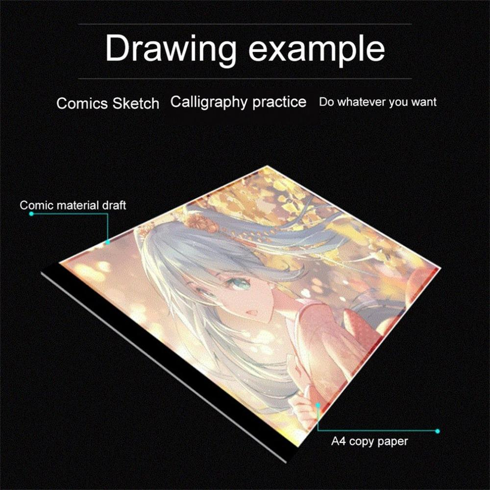 New Ultra-thin LED Artist Tracing Pad!