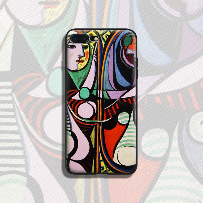 Pablo Picasso abstract Art painting soft silicone TPU Phone Case For Apple iPhone 5 5S SE 6 6S 6Plus 6sPlus 7 7Plus 8 8Plus X