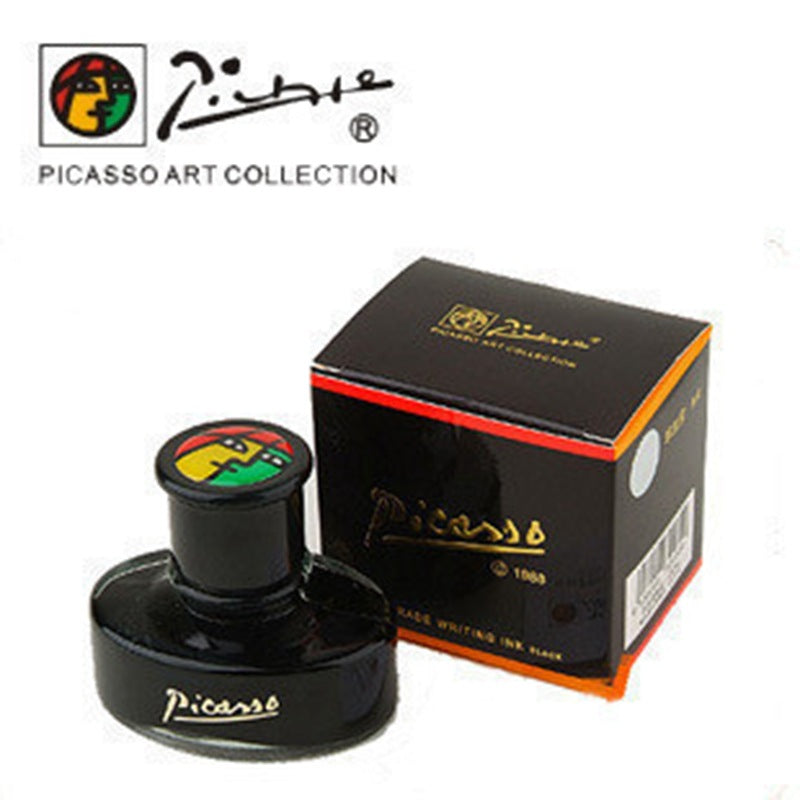 Picasso 50ml authentic pure black/blue black ink without  fountain pen watercolor ink whiteboard ink carbon pimio water OWT009