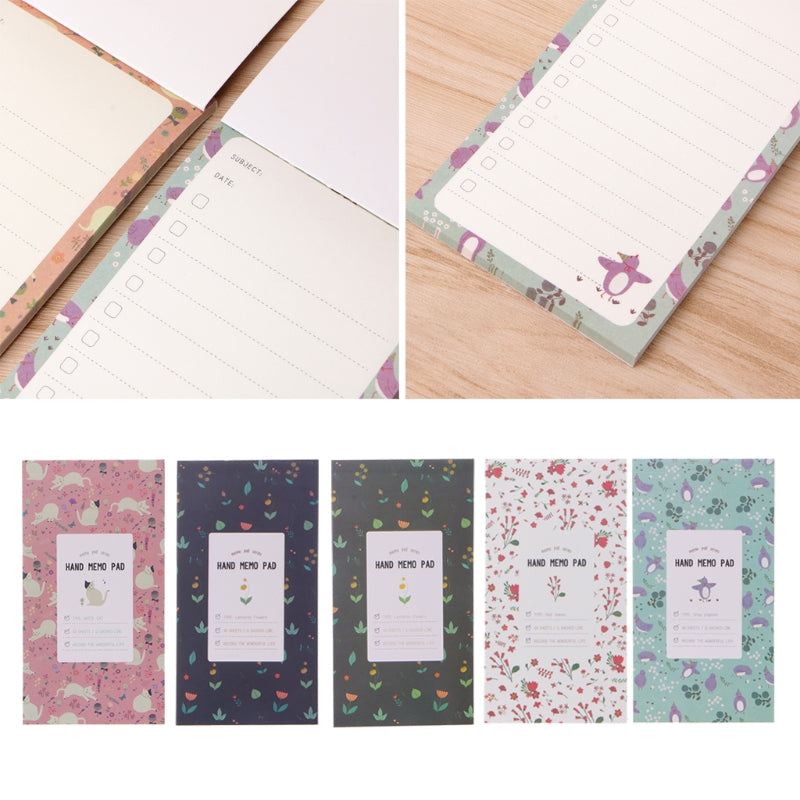 Cute Kawaii Flower Notebook Notepad Journal With Lined Paper For Kids Stationery Gift School Supplies C26