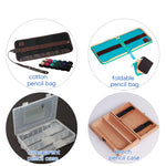 Marco Canvas Sketch Pencil Bag Set ,Pencil +Extender+Eraser +Pencil Case +Utility Knife ,Art Supplies Stationery For Artist