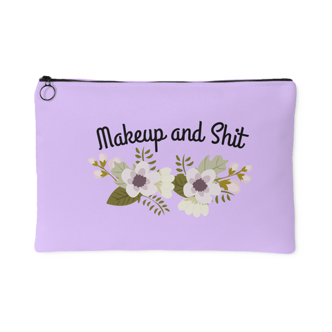 Flower Makeup Accessory Pouch