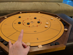 Tournament Size Crokinole Board